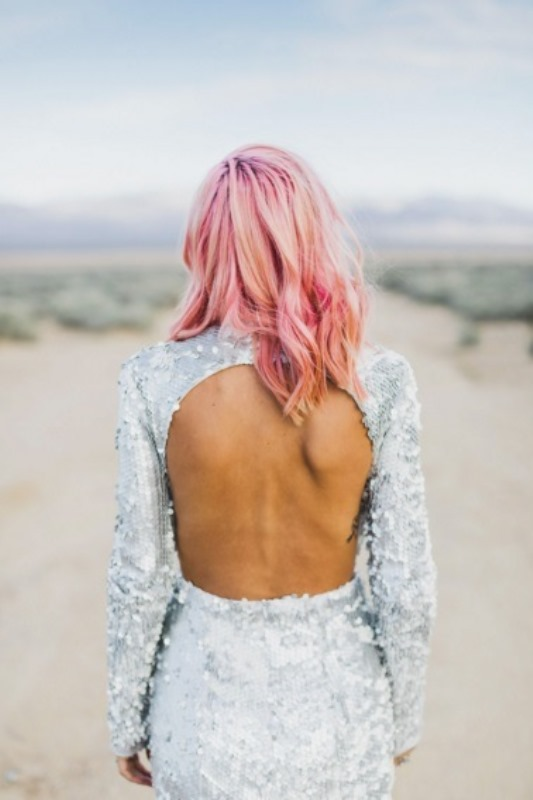 Unique Pastel Wedding Hair Ideas For Daring Brides