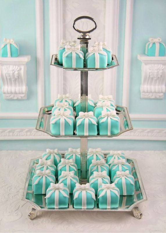 Tiffany And Co Cake Ideas