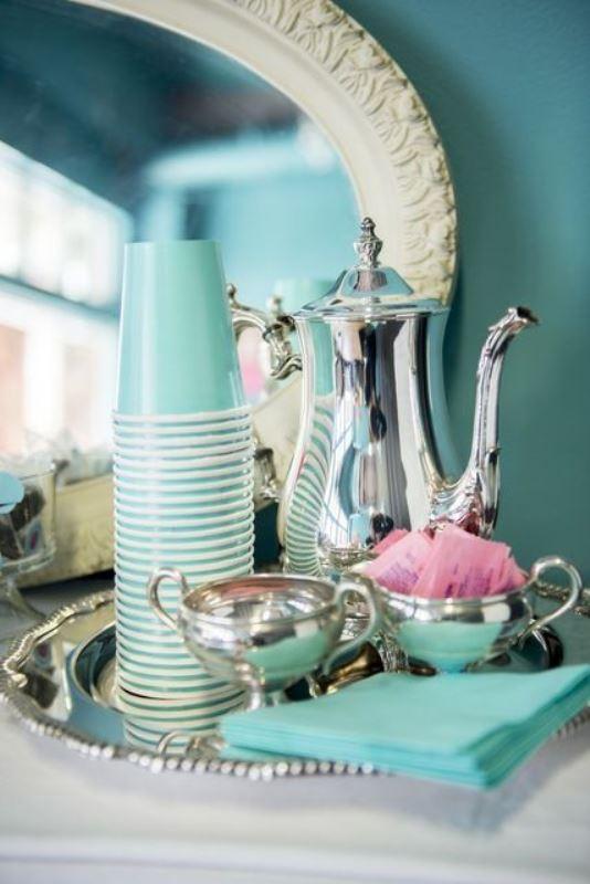 17 Breakfast At Tiffanys Themed Bridal Shower Ideas