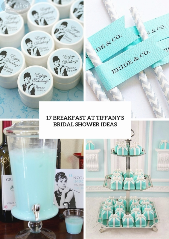 07a9fca4eb882 Picture Of 17 breakfast at tiffanys themed bridal shower ideas