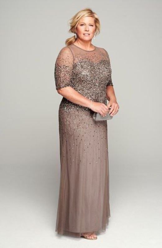 43 Stunning Plus Size Mother Of The Bride Dresses - Weddingomania