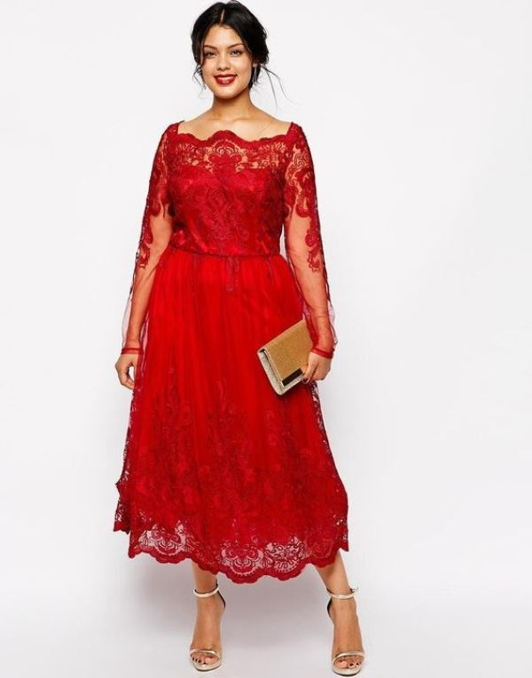 20 Stunning Plus Size Mother Of The Bride Dresses - Weddingomania