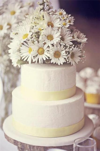 Picture Of Romantic Ideas To Incorporate Chamomile Daisies Into Your Wedding 15