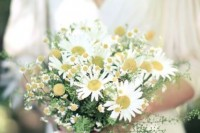 21 Romantic Ideas To Incorporate Chamomile Daisies Into Your Wedding 4
