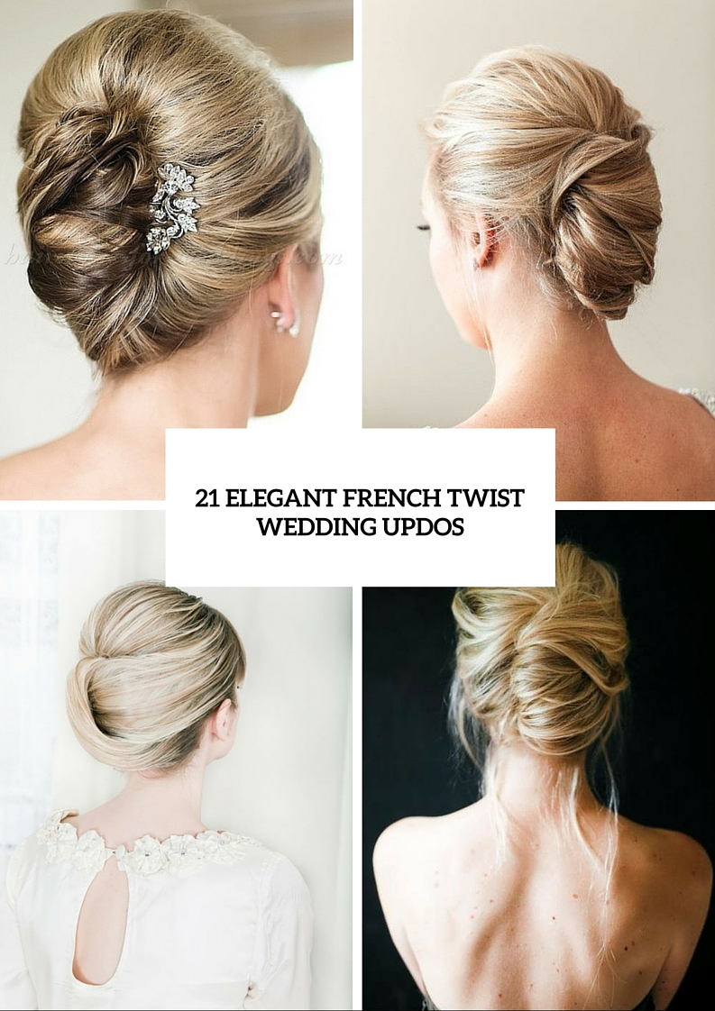 21 elegant french twist updos get inspired