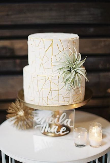 Picture Of Original Ideas To Incorporate Airplants Into Your Wedding 12