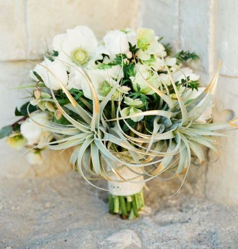 Picture Of Original Ideas To Incorporate Airplants Into Your Wedding 14