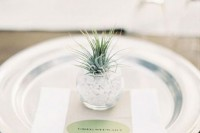 22 Original Ideas To Incorporate Airplants Into Your Wedding 18