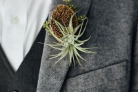 22 Original Ideas To Incorporate Airplants Into Your Wedding 19