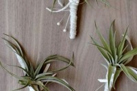 22 Original Ideas To Incorporate Airplants Into Your Wedding 22