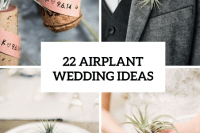 22 Original Ideas To Incorporate Airplants Into Your Wedding 23