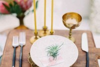 22 Original Ideas To Incorporate Airplants Into Your Wedding 7