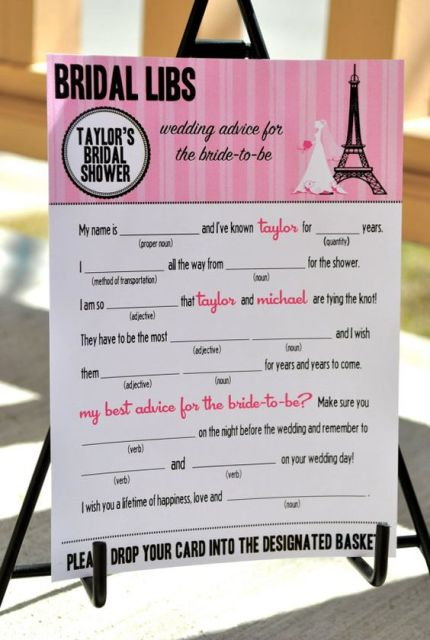 Picture of parisian themed bridal shower ideas 4 filmwisefo