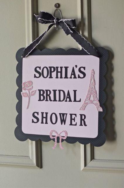 22 Chic Parisian Themed Bridal Shower Ideas Weddingomania