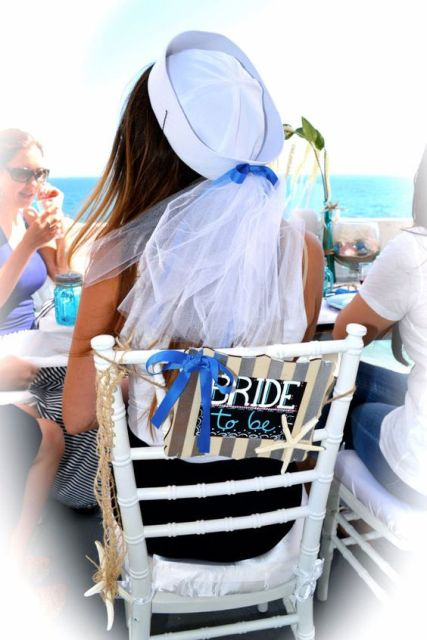 24 Chic Nautical Themed Bridal Shower Ideas Weddingomania