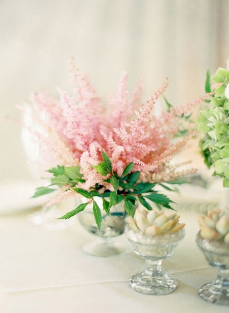 Picture Of Unique Ideas To Incorporate Astilbes Into Your Wedding 17