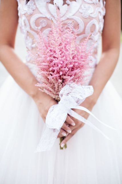 Picture Of Unique Ideas To Incorporate Astilbes Into Your Wedding 20