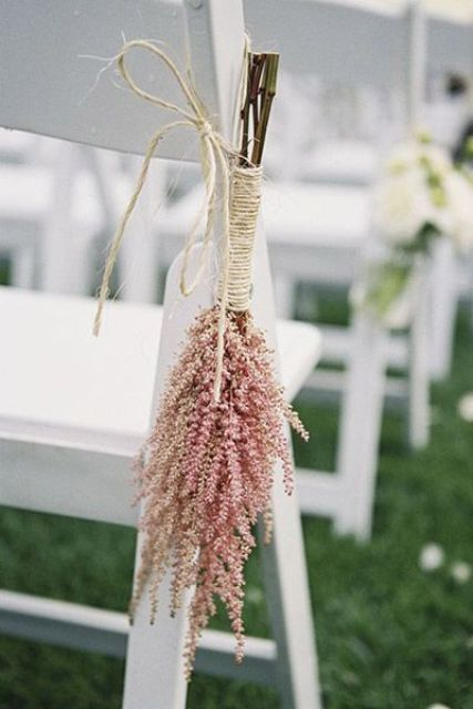Picture Of Unique Ideas To Incorporate Astilbes Into Your Wedding 23