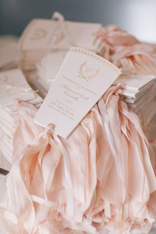 25 Beautiful And Fun Wedding Programs To Get Inspired