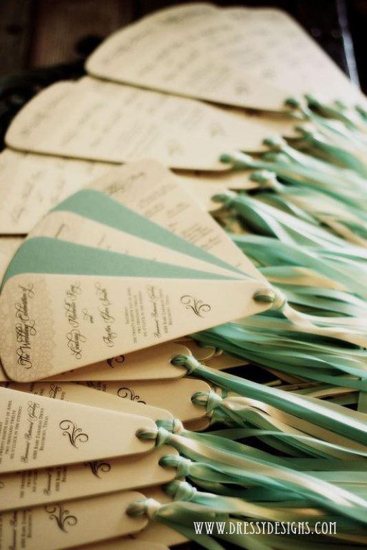 Beautiful And Fun Wedding Programs To Get Inspired