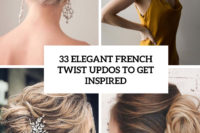 33 elegant french twist updos to get inspired cover