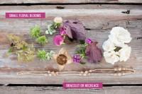 DIY Boho Flower Bracelets For Bridesmaids 2