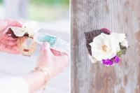 DIY Boho Flower Bracelets For Bridesmaids 3