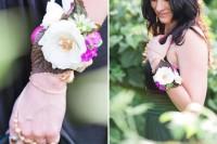 DIY Boho Flower Bracelets For Bridesmaids 5