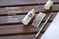 Graceful DIY Polka Dot Veil 2