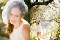 Graceful DIY Polka Dot Veil 6