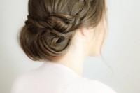 charming-diy-wedding-braided-chignon-hairstyle-1