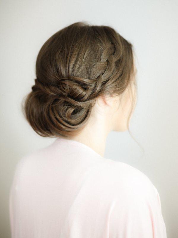 Classic Bridal Updo Hairstyle : Diy wedding updo archives weddingomania