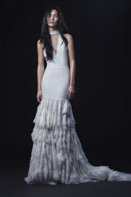 Dreamy Yet Rebel 'Hotel Madrid Part 2' Vera Wang 2016 Bridal Collection