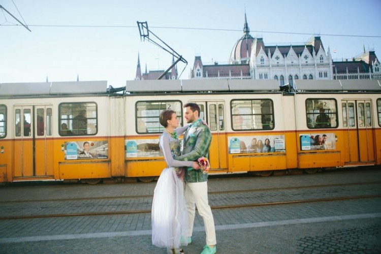 Eccentric And Unique Engagement Shoot At Budapest