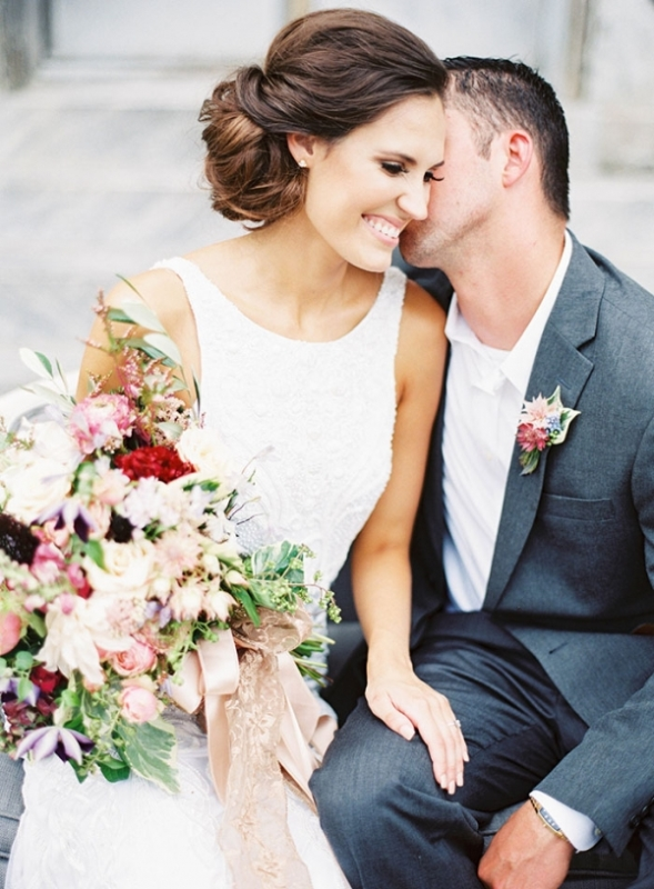Enchanting Jewel Toned Wedding Inspiration At Marigny Opera House