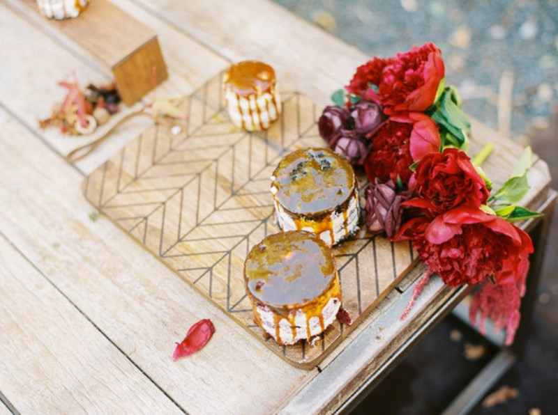 Picture Of fall jewel toned rustic ranch wedding inspiration  16
