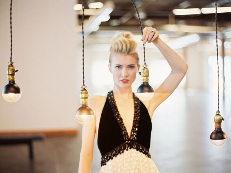 Picture Of fashionable industrial wedding inspiration  10
