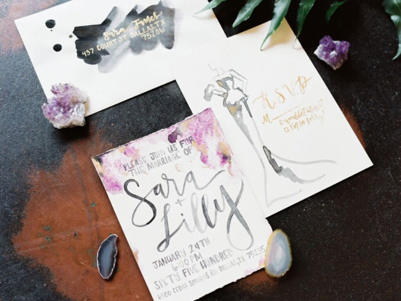 Picture Of fashionable industrial wedding inspiration  19