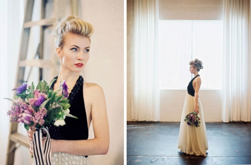 Picture Of fashionable industrial wedding inspiration  22