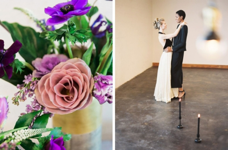 Picture Of fashionable industrial wedding inspiration  25