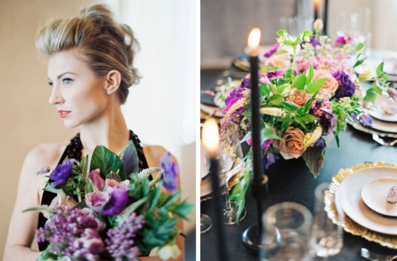 Picture Of fashionable industrial wedding inspiration  7