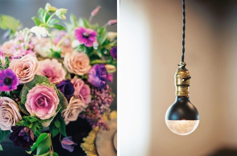 Picture Of fashionable industrial wedding inspiration  9