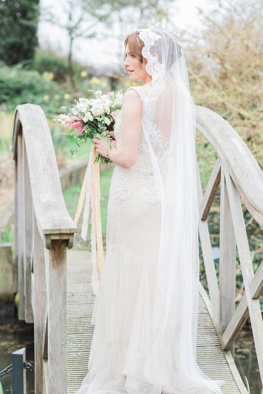 Rose Quartz And Serenity Bridal Shoot At The South Farm