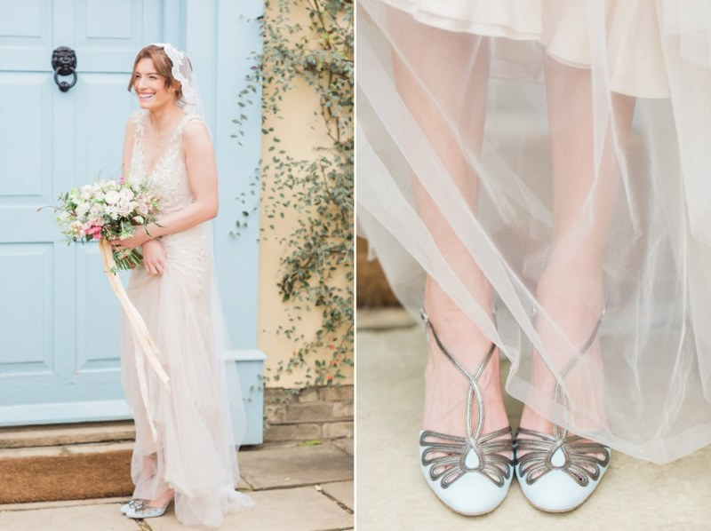 Picture Of rose quartz and serenity bridal shoot at the south farm  10