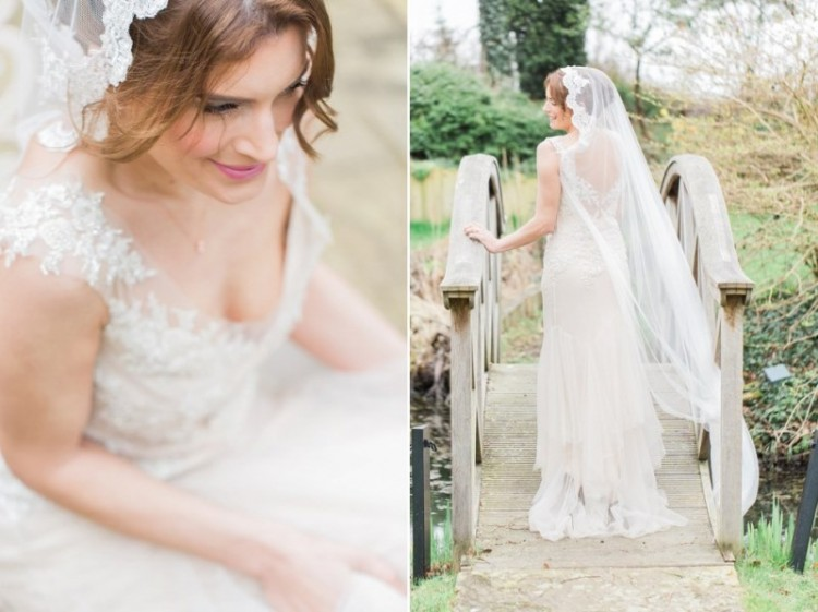 Rose Quartz And Serenity Bridal Shoot At The South Farm