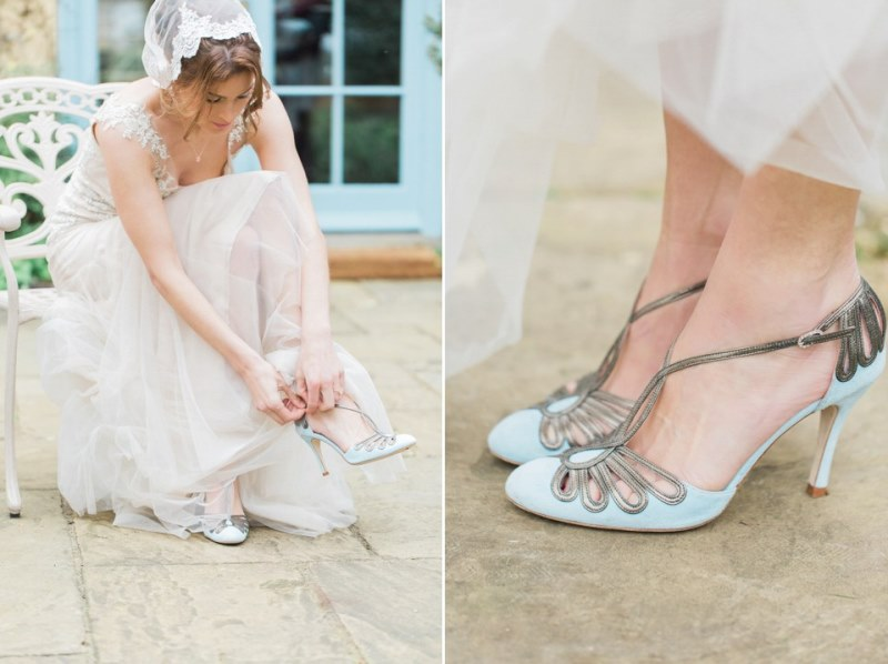 Picture Of rose quartz and serenity bridal shoot at the south farm  5