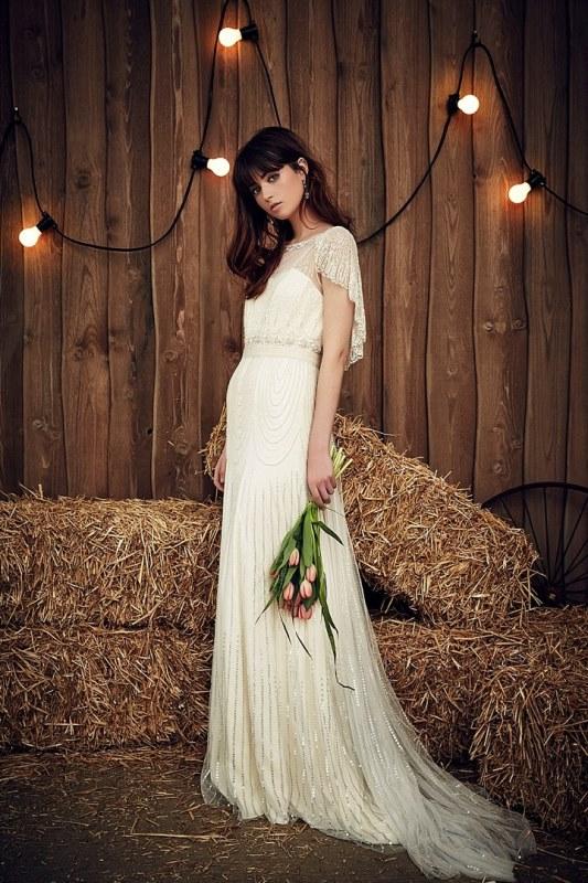 Rustic Wedding Dress 7 Cool Rustic Glam Jenny Packham