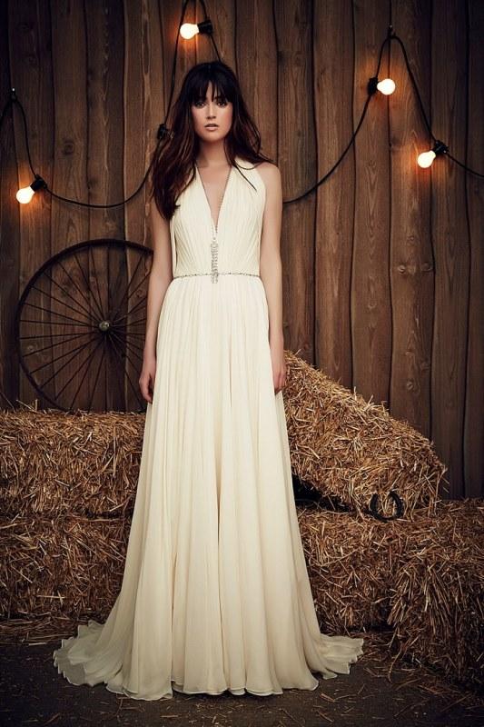 Rustic Wedding Dress 85 Marvelous Rustic Glam Jenny Packham