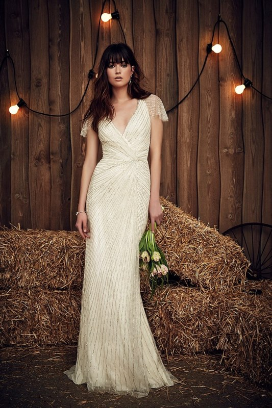 Rustic Glam Jenny Packham 2017 Bridal Dress Collection