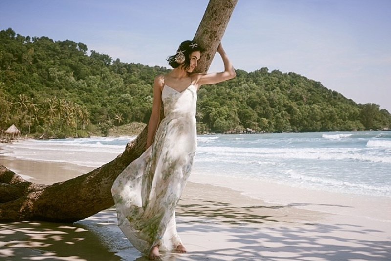Picture Of sensuous yet comfy bhldn honeymoon outfits collection  10